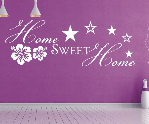 Wandtattoo - Home sweet Home - Variante 4