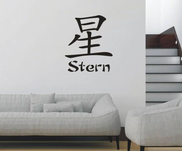 Wandtattoo - Chinesische Zeichen | 21
