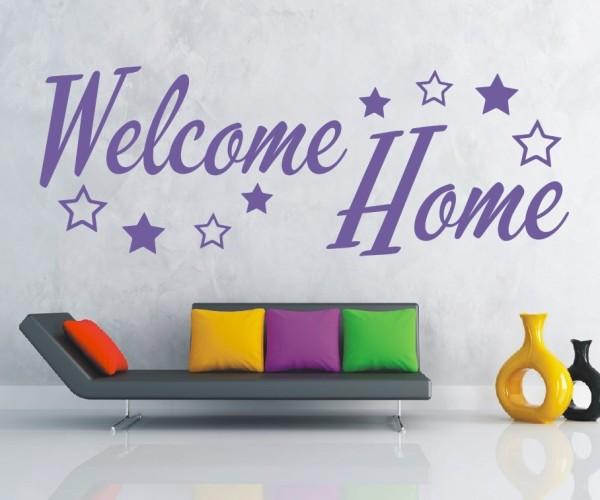 Wandtattoo - Welcome Home - Variante 7
