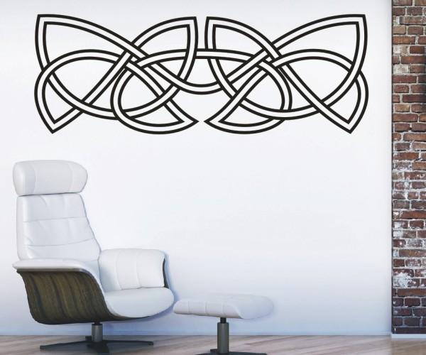Wandtattoo - Keltische Knoten /Celtic Ornamente - Variante 79