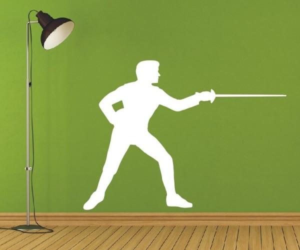 Wandtattoo - Kampfsport - Silhouetten / Schattenmotiv - Variante 9