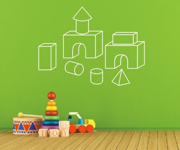 Wandtattoo - Kinderzimmermotive - Variante 17