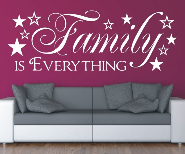 Wandtattoo - Family is everything | 2