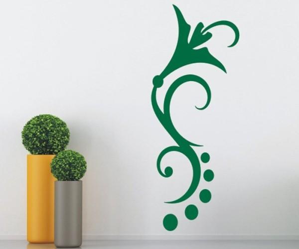 Wandtattoo - Blumenmotiv / Blumenranke   185