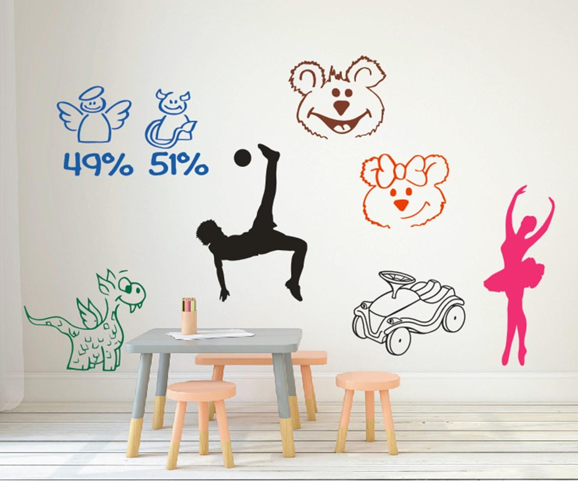 Motivmix Kinderzimmer