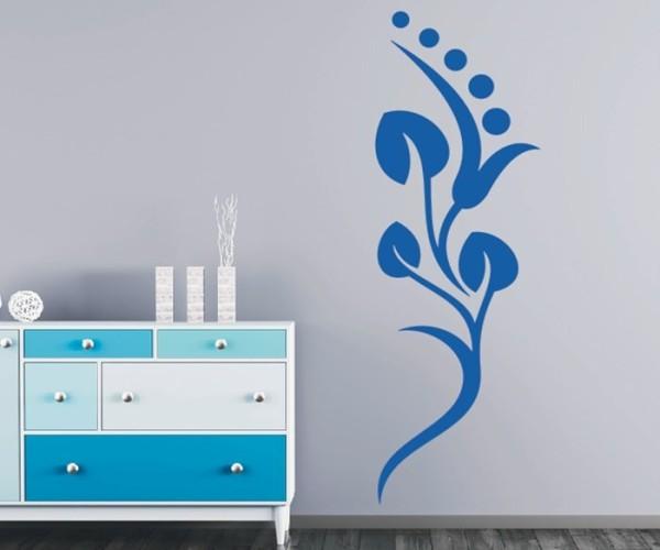 Wandtattoo - Blumenmotiv / Blumenranke | 244