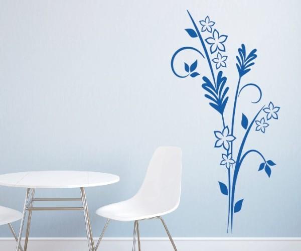 Wandtattoo - Blumenmotiv / Blumenranke | 113