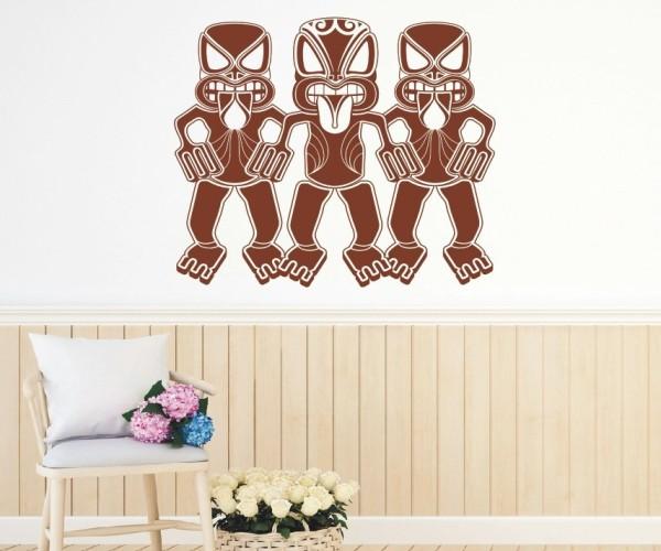 Wandtattoo - Maori - Maskenmotiv | 1