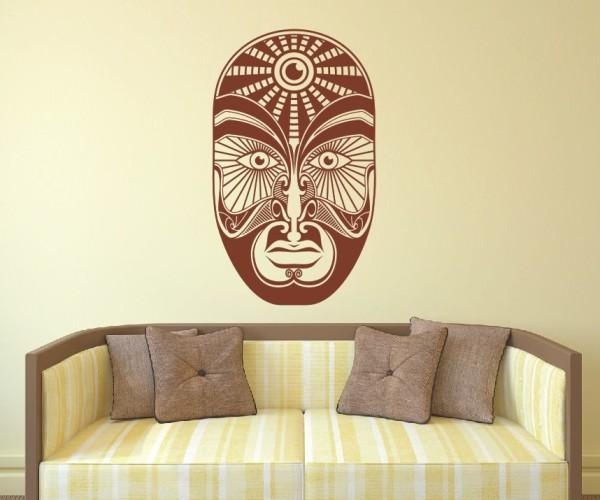 Wandtattoo - Maori - Maskenmotiv   12