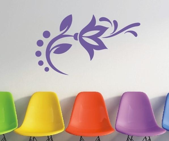 Wandtattoo - Blumenmotiv / Blumenranke | 82