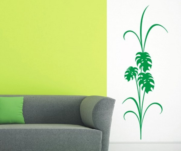 Wandtattoo - Blumenmotiv / Blumenranke | 235