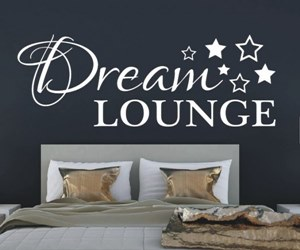 Wandtattoo Wandsticker Schlafzimmer -Dream-Lounge