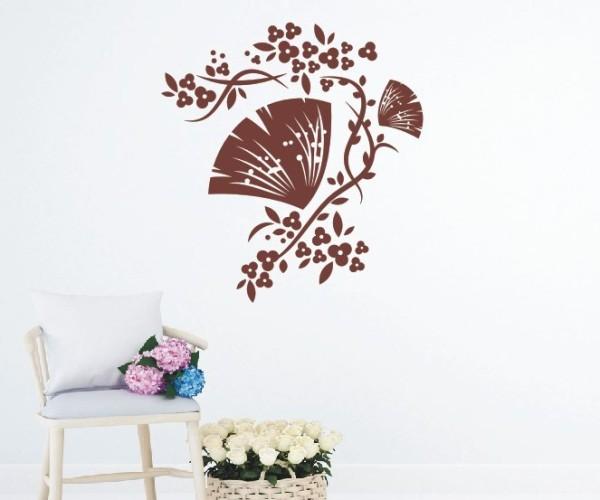 Wandtattoo - Blumenmotiv / Blumenranke | 10