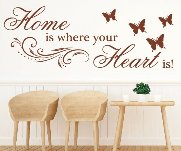 Wandtattoo - Home is where your Heart is! | 5