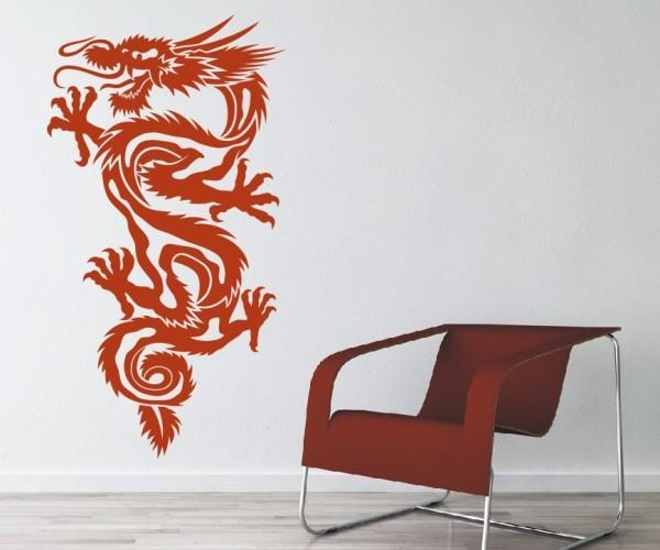 Wandtattoo - Chinesische Drachen - Variante 29