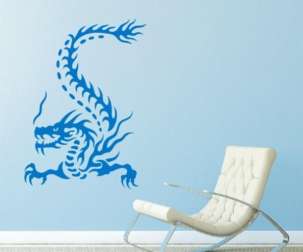 Wandtattoo - Chinesische Drachen - Variante 3