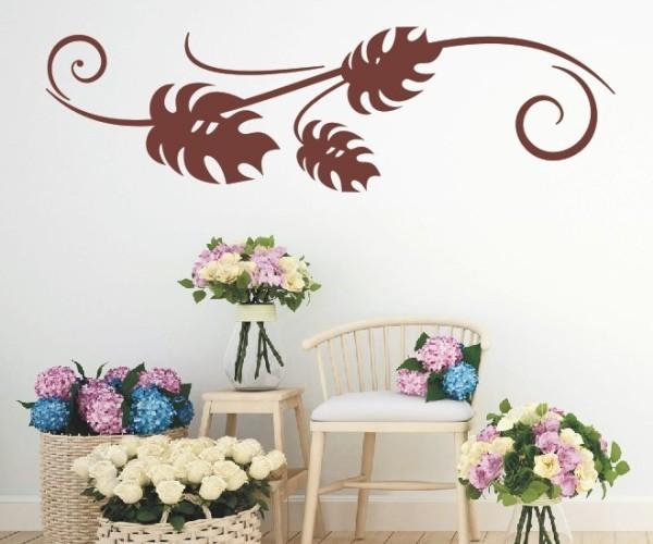 Wandtattoo - Blumenmotiv / Blumenranke | 233