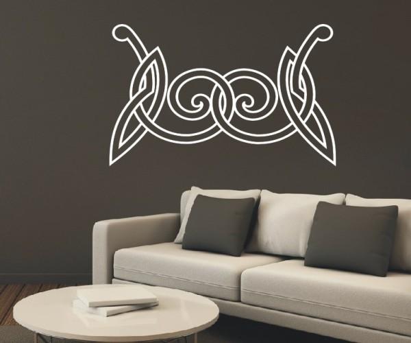 Wandtattoo - Keltische Knoten /Celtic Ornamente | 55