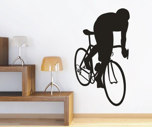Wandtattoo - Radsport - Silhouette / Schattenmotiv | 3