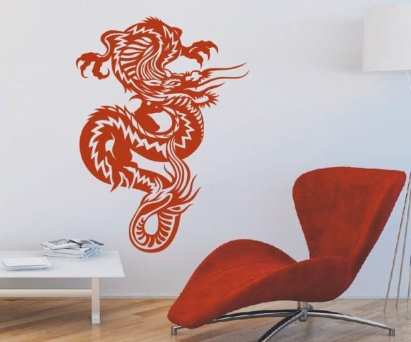 Wandtattoo - Chinesische Drachen - Variante 7