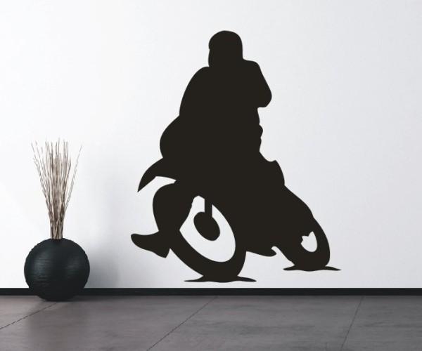 Wandtattoo - Motorsport - Silhouette / Schattenmotiv   3