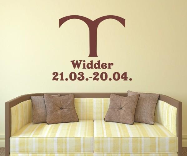Wandtattoo - Sternzeichen - Variante 35