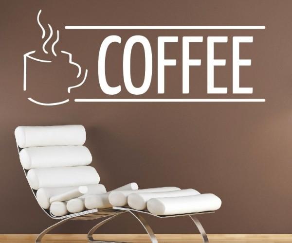 Wandtattoo - Küche - Tee Kaffee Küche Esszimmer Coffeshop Wandbild Wanddeko-20