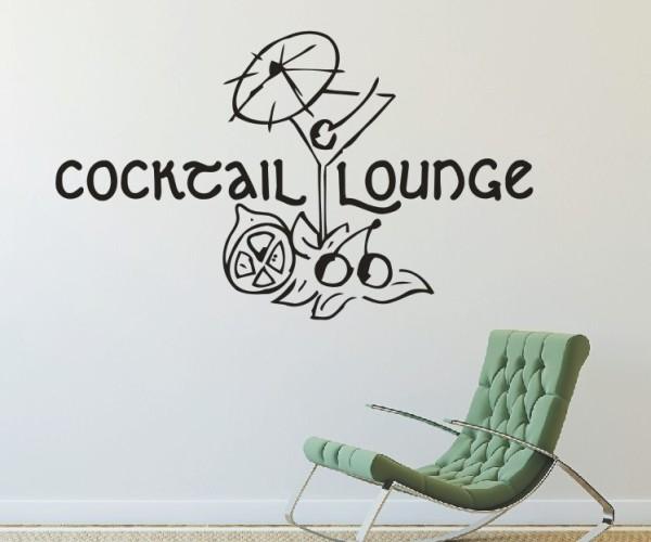 Wandtattoo - Küche - Cocktail Bar Kneipe Alkohol Tresen Wandbild Wanddeko-7