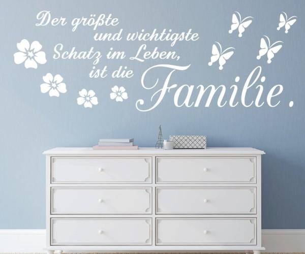 Wandtattoo - Der größte und wichtigste Schatz im Leben, ist die Familie! | 7