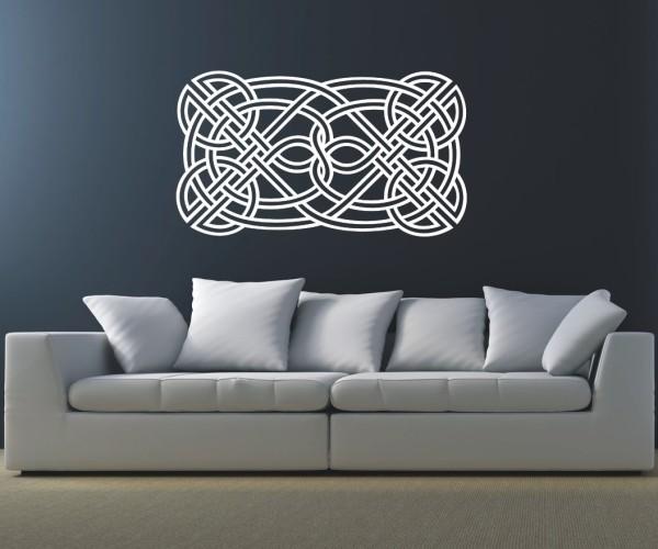 Wandtattoo - Keltische Knoten /Celtic Ornamente - Variante 61