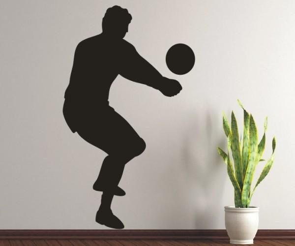 Wandtattoo - Volleyball - Silhouette / Schattenmotiv | 2