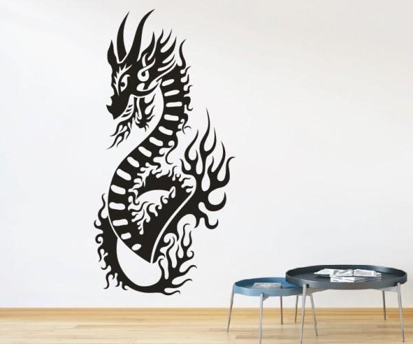 Wandtattoo - Chinesische Drachen | 41