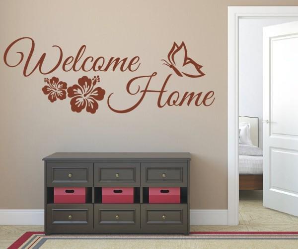 Wandtattoo - Welcome Home - Variante 4
