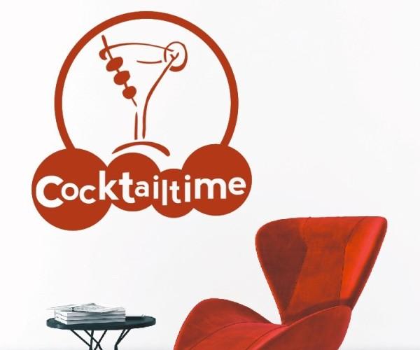Wandtattoo - Küche - Cocktail Bar Kneipe Alkohol Tresen Wandbild Wanddeko-2