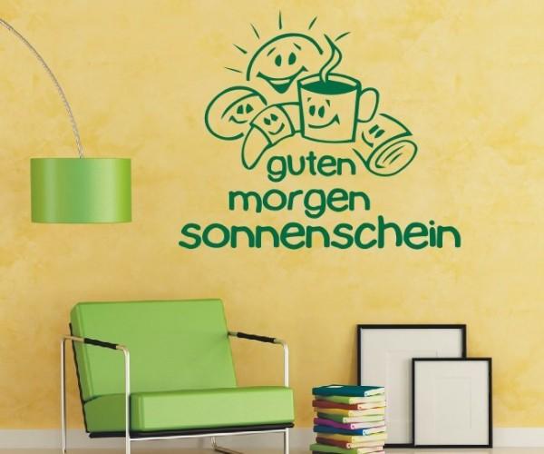 Wandtattoo - Küche - Tee Kaffee Küche Esszimmer Frühstück Wandbild Wanddeko-3