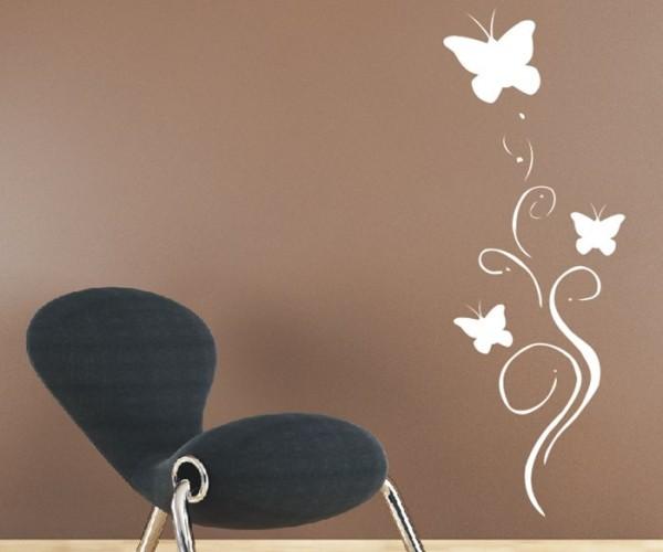 Wandtattoo - Blumenmotiv / Blumenranke - Variante 248