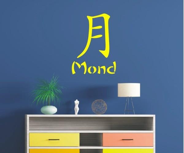 Wandtattoo - Chinesische Zeichen - Variante 35