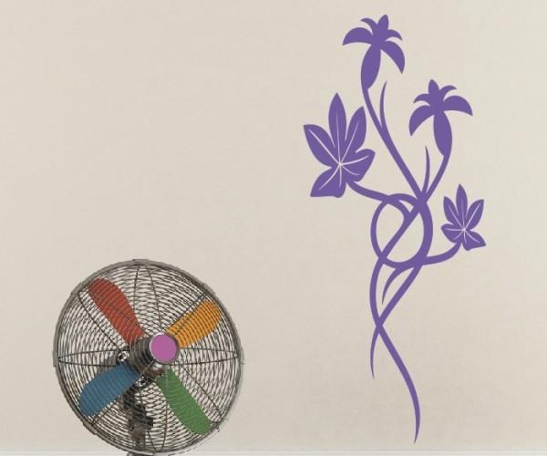 Wandtattoo - Blumenmotiv / Blumenranke | 149