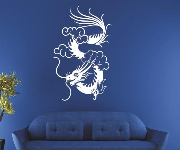 Wandtattoo - Chinesische Drachen - Variante 24