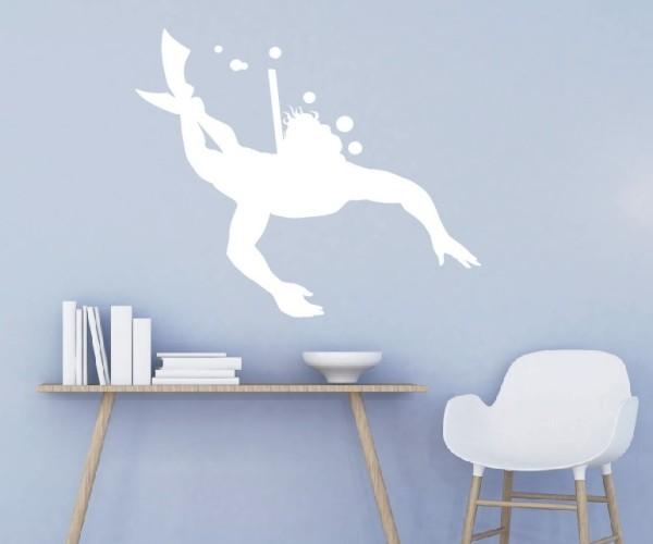 Wandtattoo - Wassersport - Silhouette / Schattenmotiv | 2
