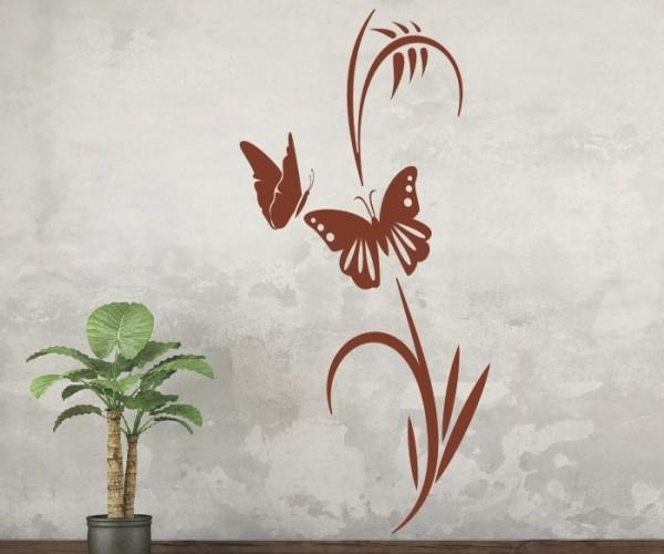 Wandtattoo - Blumenmotiv / Blumenranke | 127