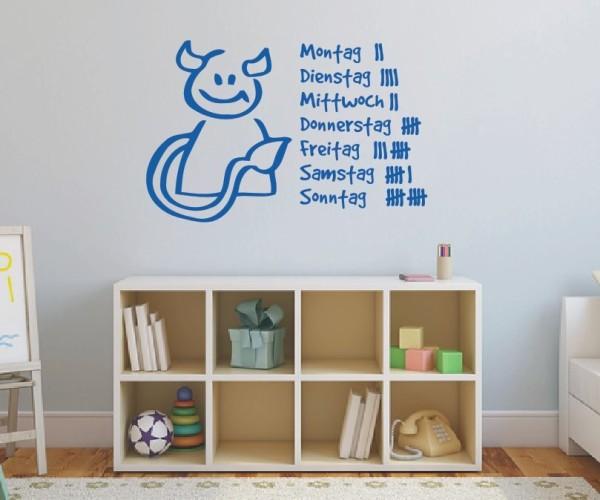 Wandtattoo - Kinderzimmermotive - Variante 31