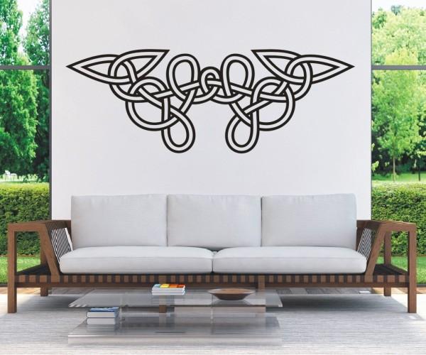 Wandtattoo - Keltische Knoten /Celtic Ornamente - Variante 77