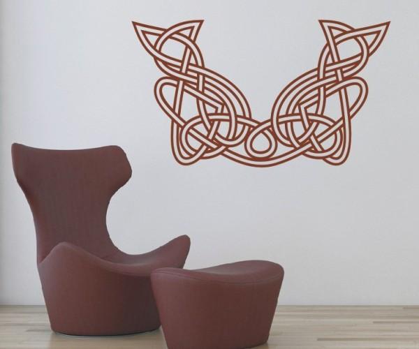 Wandtattoo - Keltische Knoten /Celtic Ornamente - Variante 62