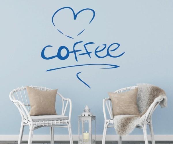 Wandtattoo - Küche - Tee Kaffee Küche Esszimmer Coffeshop Wandbild Wanddeko-10