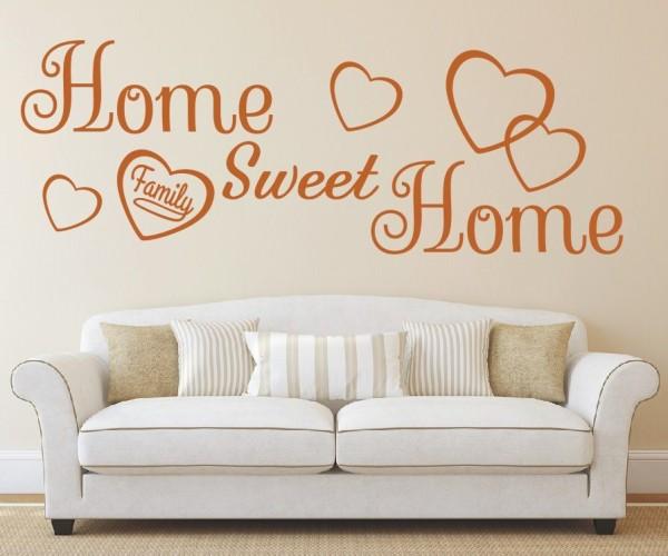 Wandtattoo - Home sweet Home - Variante 7