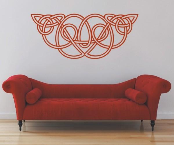 Wandtattoo - Keltische Knoten /Celtic Ornamente - Variante 74