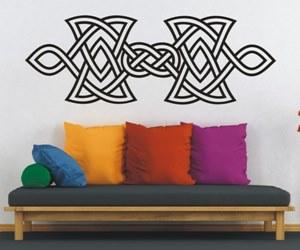 Wandsticker kaufen mit Keltischen Knoten und Celtic Ornamenten - Wandtattoos
