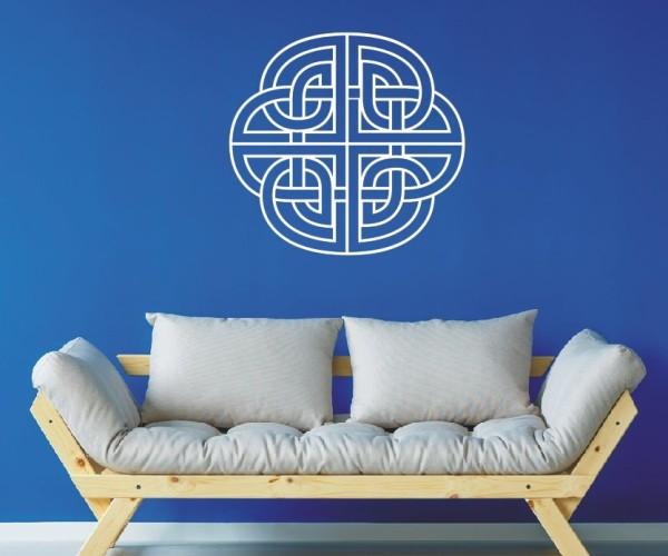 Wandtattoo - Keltische Knoten /Celtic Ornamente - Variante 24