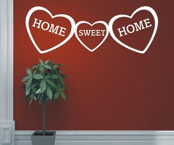 Wandtattoo - Home sweet Home - Variante 1